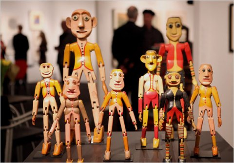 The Outsider Art Fair - from NYTIMES article