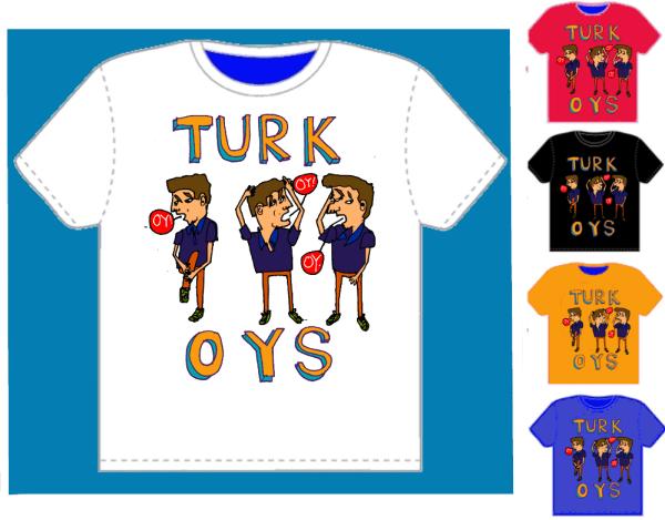 Razblint - tshirt template - Turk Oys