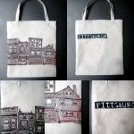 Pittsburgh Houses Tote Bag