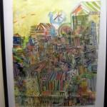 Miriam Singer's Daydream Maps, Philadelphia Airport Art