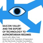 Tech Exports to Authoritarian Regimes, poster design