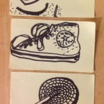 Three Post-its from DC Metro