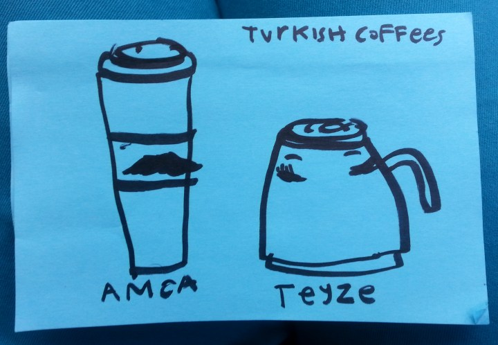 Turkish Coffees - sketch