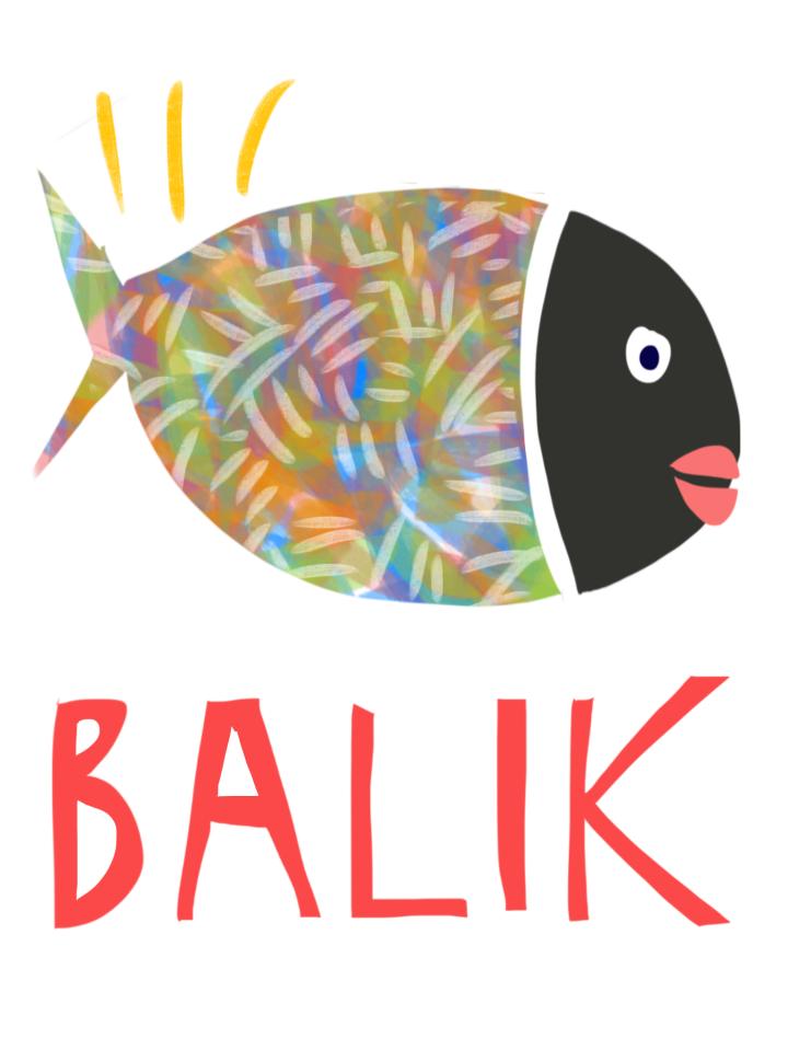Balik Fish print by Margaret hagan