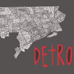 Detroit city neighborhood map
