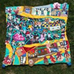 South Belfast fabric quilt