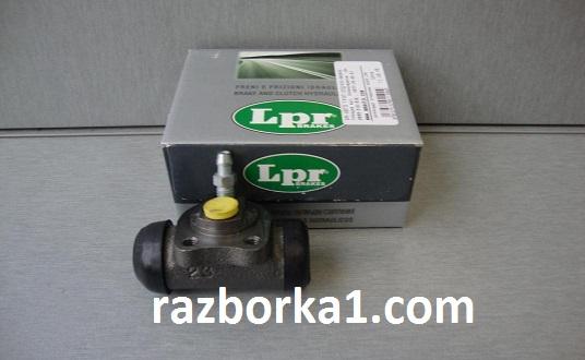 Цилиндр задний тормозной в сборе 19,05 мм Ланос 1.6 Авео LPR - LPR4248