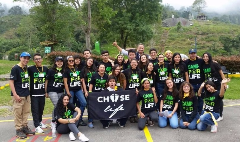 Asistentes a la segunda edición de Camp for Life en Colombia / Fotos cortesía.