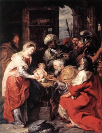 Resultado de imagen para Reyes Magos museo del Louvre