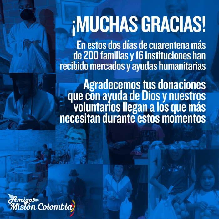 Amigos Misión Colombia agradecimiento 1