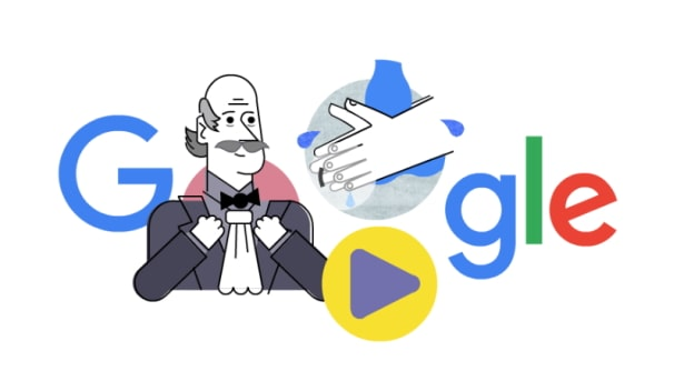 Google rinde homenaje a médico protocolo lavado de manos