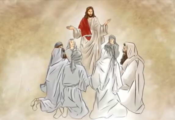 Jesús enseña el Padre Nuestro
