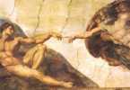 La creación de Adán Miguel Angel