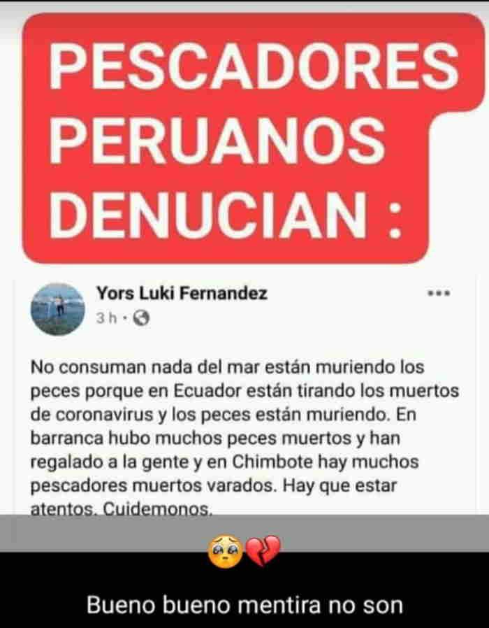 Pescadores peruanos denuncian