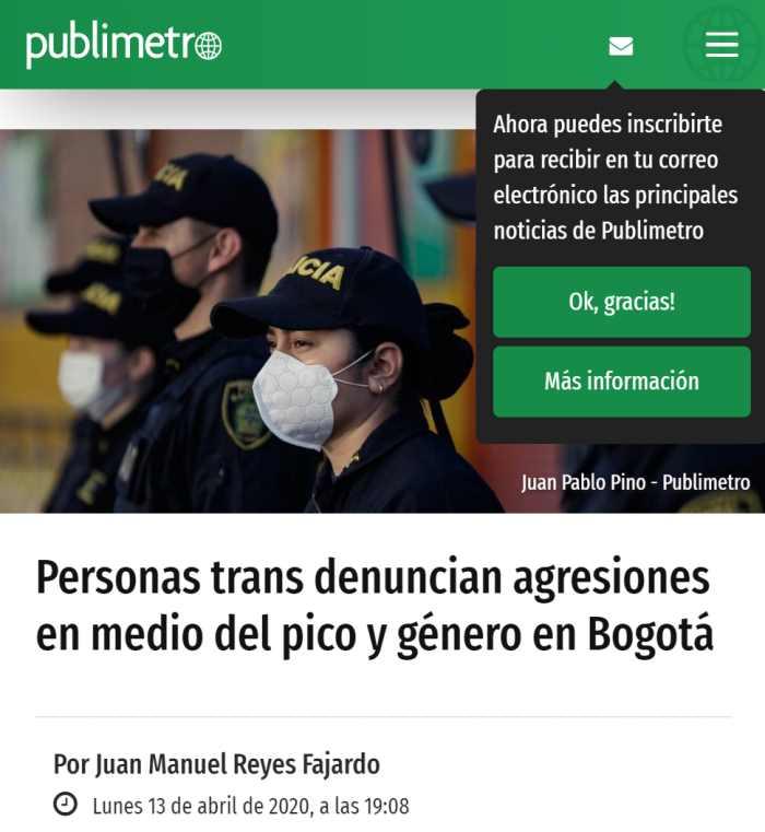 Publímetro Trans Pico y Género