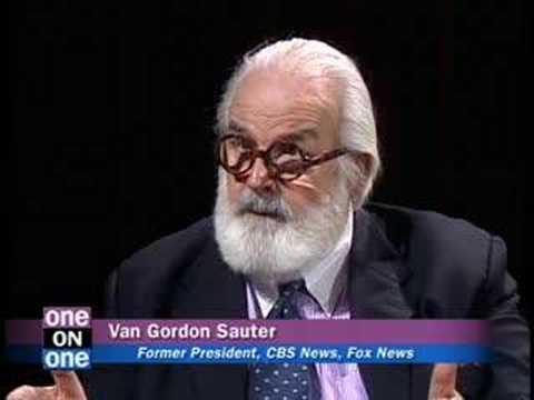 Van Gordon Sauter former CBS President