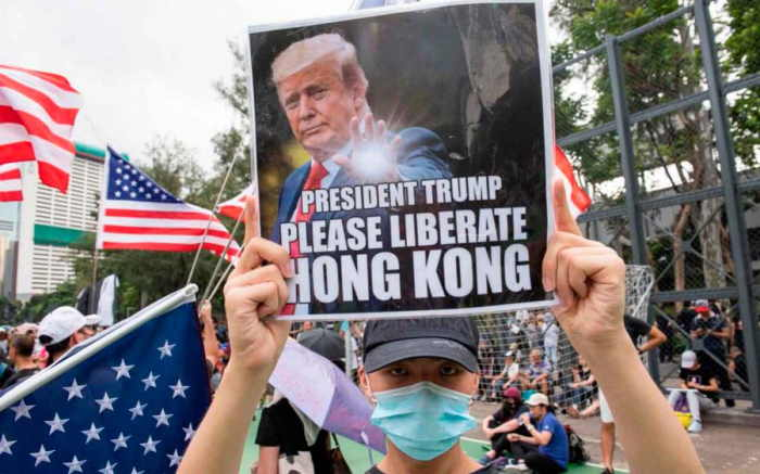 Hong Kong Trump