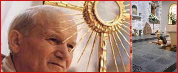 Juan Pablo II y Perros que reconocen a personas vivas