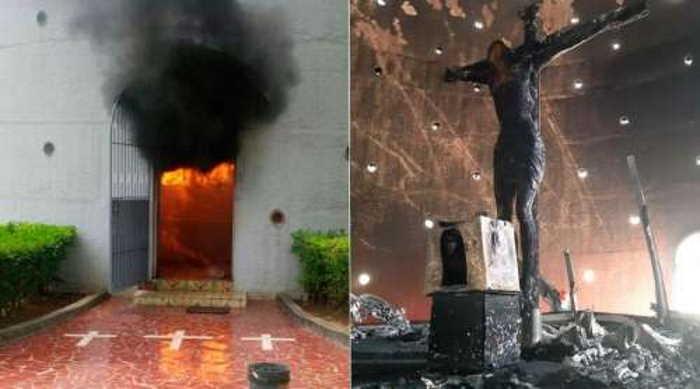 Atentado contra Catedral de Managua
