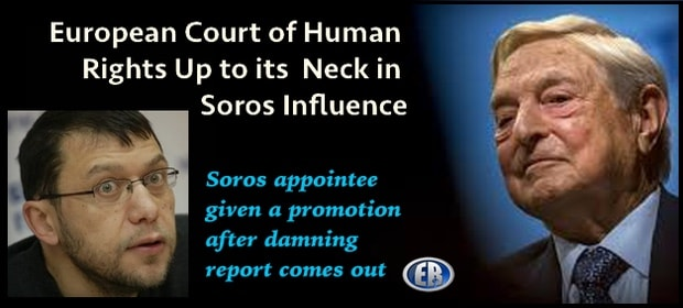 Soros influenced European Court of human rights