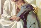 Jesus abraza al penitente