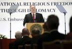 Mike Pompeo at religious freedom simposium