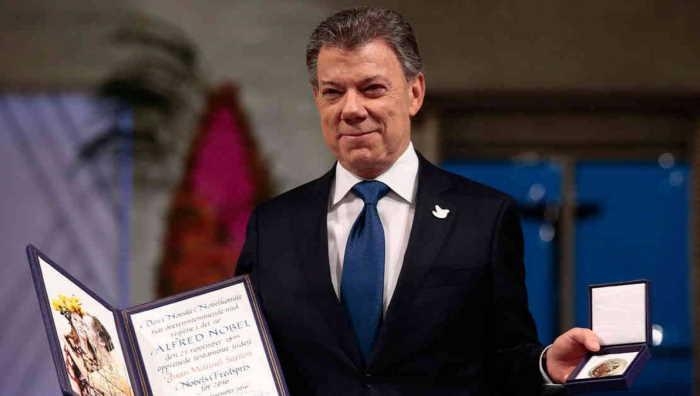 Nobel de Paz a Juan Manuel Santos