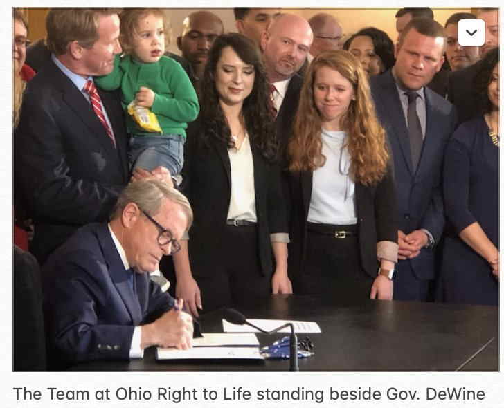 Governor DeWine signs bill on abortion remains