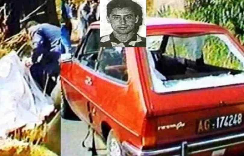 Carro donde fue asesinado el juez.