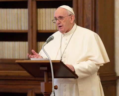 Francisco Angelus 24 de enero