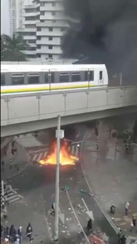 Vandalismo en Medellin 5