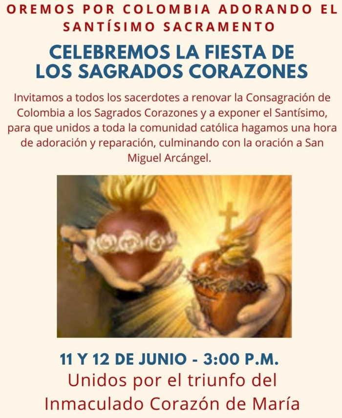 Consagracion y Fiesta de los Sagrados Corazones