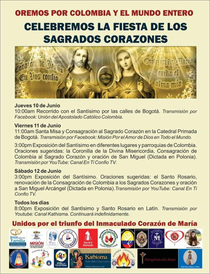 Consagracion y Fiesta