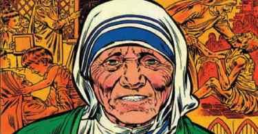 Portada Mother Teresa of Calcutta 1984 Marvel
