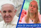 Papa francisco y Martha Sepulveda