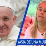 Pídele al Papa Francisco un mensaje de aliento para Marta Sepúlveda