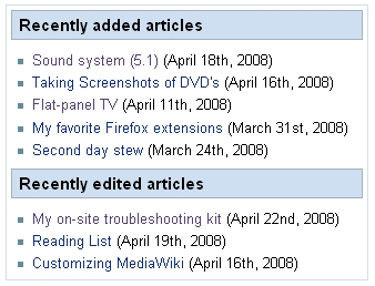Wiki Information box