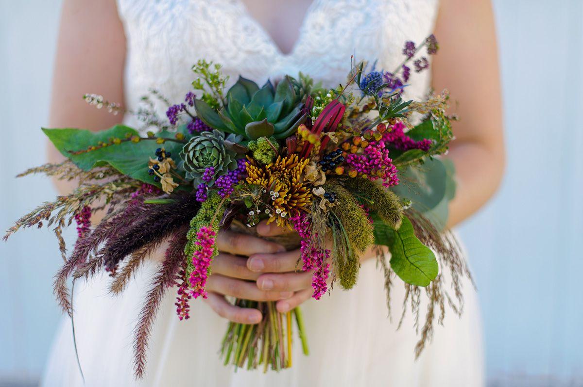 Beautiful bridal boquet