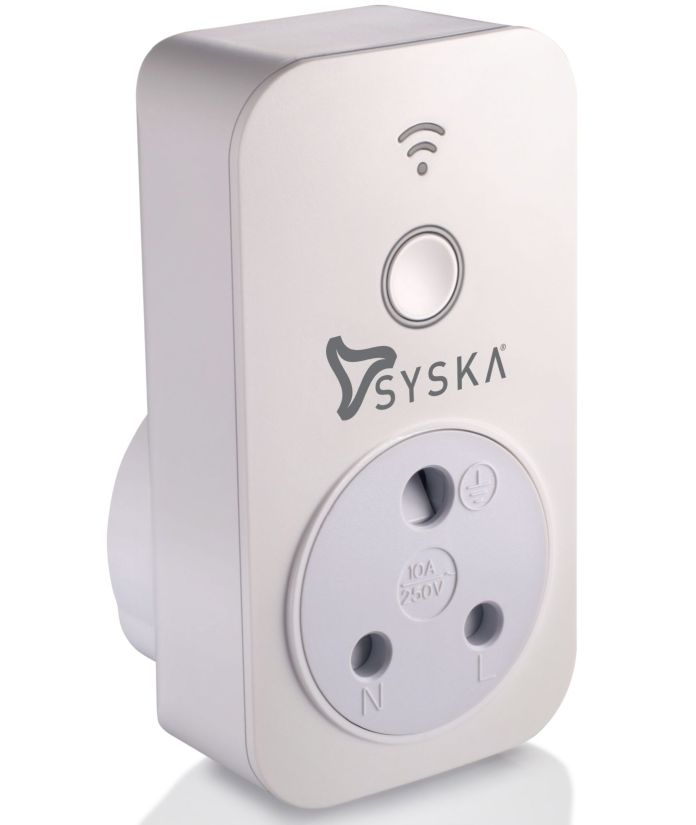 Syska Smart Plug with Power Meter