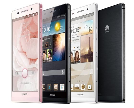 Huawei Ascend P6 India