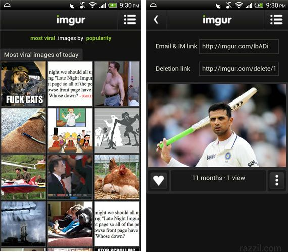 Official Imgur Android app