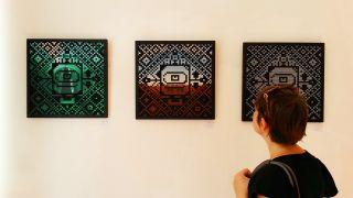 Graffiti-Werke des Künstlers Bam Bam aus dem Iran (Quelle: rbb/ Anna Corves)