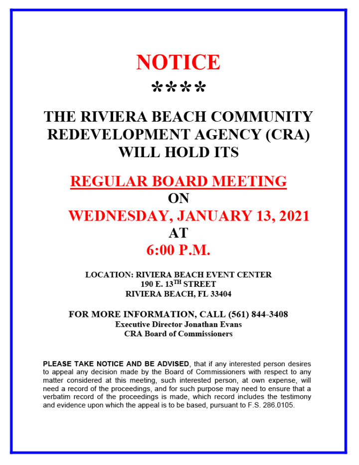 rbcra-jan-13-board-meeting