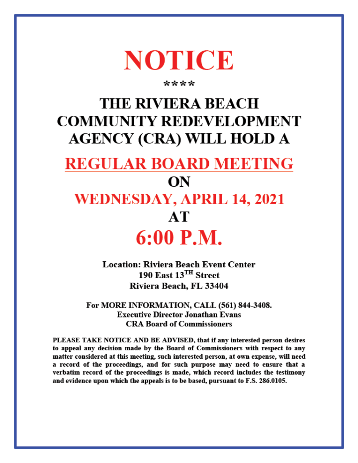 RBCRA-REGULAR-CRA-BOARD-MEETING--APRIL-14-2021-NOTICE