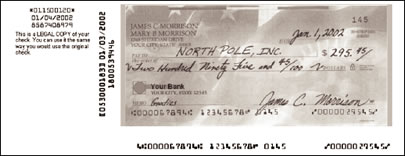 how to write a us cheque