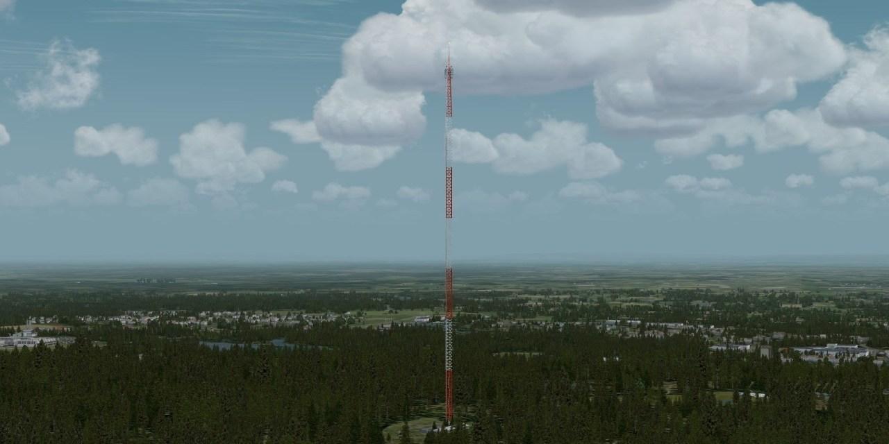 Tv, radiomaster och vindkraftverk för Sverige