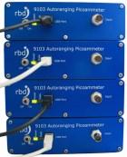 four pico ammeters