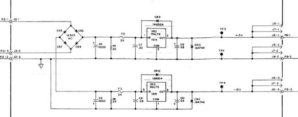 15 V schematic