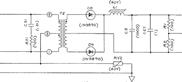 HV1 board schematic C5