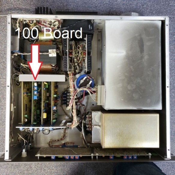 R100 board location in 20-610